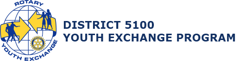 Rotary Youth Exchange – District 5100 Logo